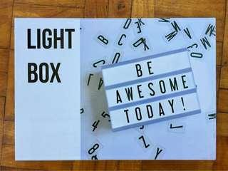 Brand New Lightbox