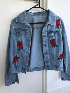 Boutique Denim Jacket XS