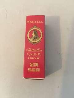 馬爹利早期火柴盒
