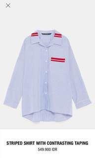 Zara Shirt - Red Stripe