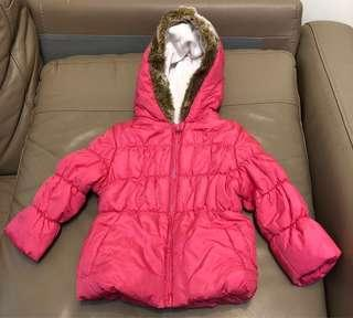 9-12m Mothercare baby girl jacket/snowsuit