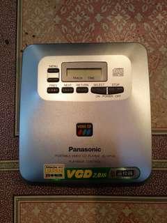 Panasonic sl-vp30 discman vcd player
