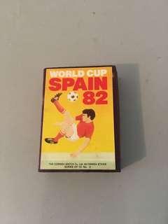 82年世界杯火柴盒
