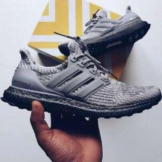 Adidas Ultra boost Triple Grey