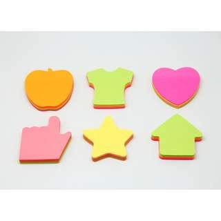 SOLDOUT Shaped Post Its