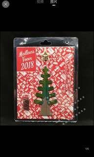 🚚 紙樹開花✨大號聖誕樹🎄17公分。一夜之間長出聖誕樹來~