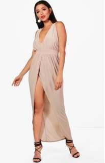 boohoo size 12 dress