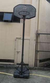 Basketball net hoop stand