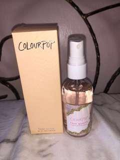 Limited edition colorpop crystal priming spray