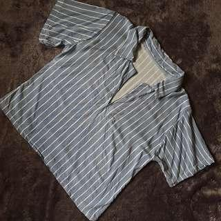 Semi crop polo