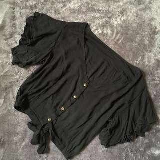 Black Anne Top