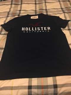 Hollister tee 男裝M size 全新 new (Hot size)