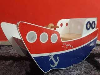 [babies/kids] FRISO Wooden Rocking Boat Limited Edition