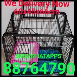 Cat Cage Thick Iron Metal 2 Tier Pet Cage Rabbit Cage Bird Cage Poppy Cage Free  Delivery whatapps or sms for fast deal