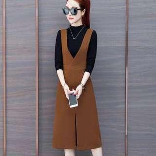 Janice 2 way Pinafore Dress
