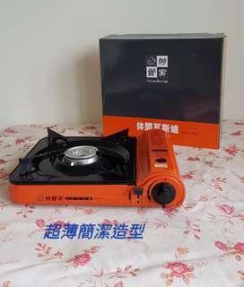 🚚 【翔玲小舖】超薄型休閒瓦斯爐  橘彩休閒爐