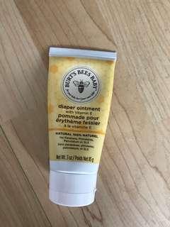 Burts Bee Baby diaper rash ointment