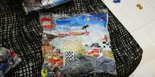 Lego shell 40194 Finish line & Podium