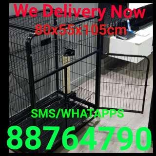 Great Pet Cage Cat Kitten Cage Poppy Cage Rabbit Birds Cage 3 Tier Cage. Free delivery