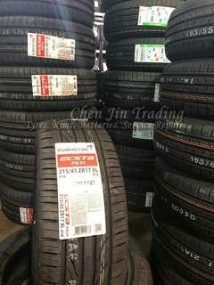 New arrival, offer promotion, Kumho PS31, Kumho KH27, Kumho KH17, year end fever, grab, gojek, value for money tyre, various size