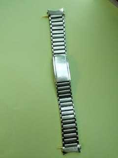 Seiko 18mm 中古鋼錶帶