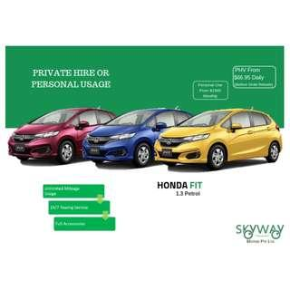 Brand New Honda Fit 1.3 G