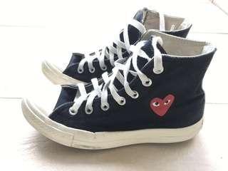 CDG Play x Converse Comme des Garçons Heart心鞋