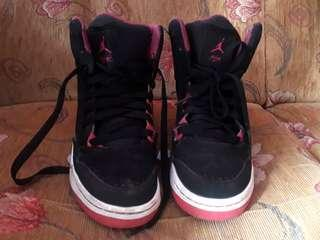 Nike Air Jordan black pink original not vans converse