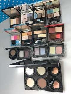 Shiseido Bobbi Brown Kanebo RMK Anna Sui Nars Eye Shadow 眼影 (13 sets/13件)