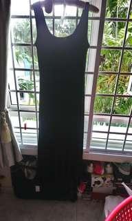 Long Maxi Black Dress