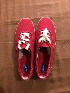 Red Keds Canvas Shoes/Sneakers