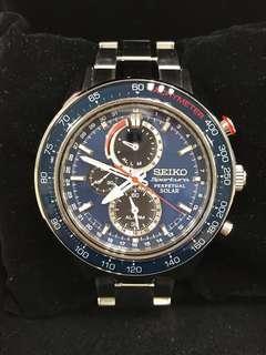 Seiko Sportura Solar Chronograph SSC355P1