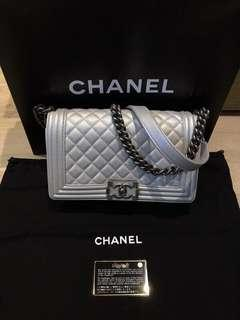 Chanel Leboy silver brand new