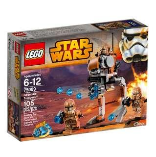 LEGO Star Wars - 75089 Geonosis Trooper (New, factory sealed condition)