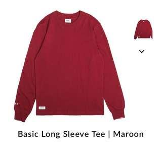 Authentic long sleeve tshirt hype