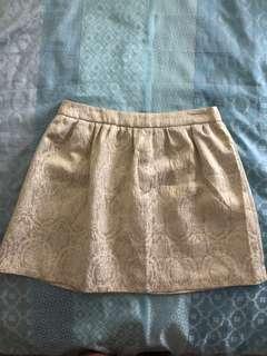Sportsgirl Gold Skirt