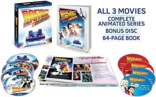 Back to the Future Trilogy The complete collection Blu-ray boxset plus animated series   8 discs