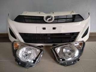 Axia Bumper With Headlamp G