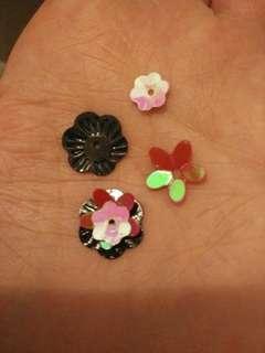 Beautiful flower craft embellishments