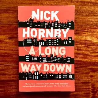 Book: A Long Way Down by Nick Hornby