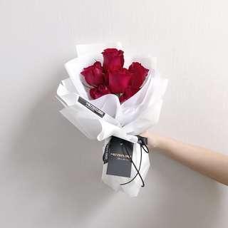 🚚 Rose Flower Bouquet   Birthday Flower   Anniversary Gift   Fresh Flower   Flower Delivery   玫瑰花  花束