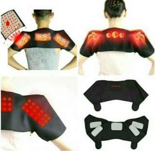 BN Tourmaline Therapy Relief Pain Self Heating Shoulder Back Support Unisex Vest