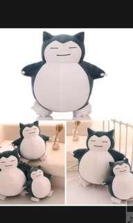 🚚 30 cm snorlax soft toy