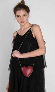 Charles and keith love silng bag