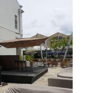 Riviera Alu Cantilever Rectangle - 3x 4M