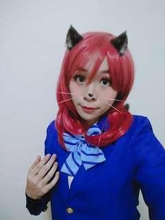 Maki Nishikino Wig LoveLive Cosplay