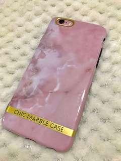 聖誕禮物精選🎅🏻 iPhone 6/6S 粉紅雲石電話殼 CHIC MARBLE CASE phone case