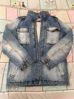 Jaket jeans tebal