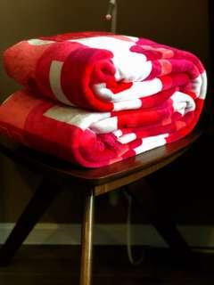 Selimut/Blanket PinkyRed (Super Queen Size) 👛🌸