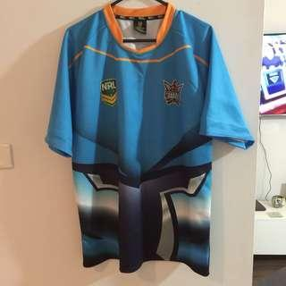 Titans NRL jersey